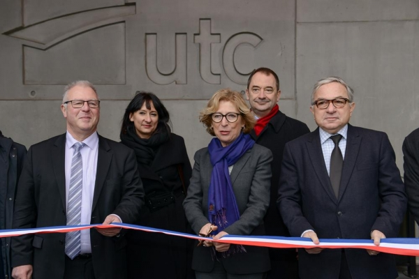 Inauguration du Centre d'Innovation de l'UTC